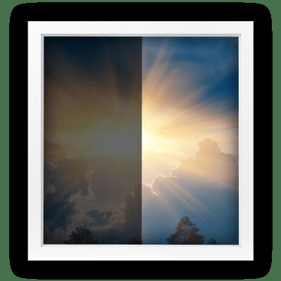 UV-Schutzfolie mit Sonnenschutz
