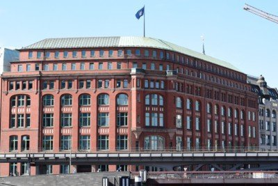 Slomannhaus Hamburg uv-schutzfolie
