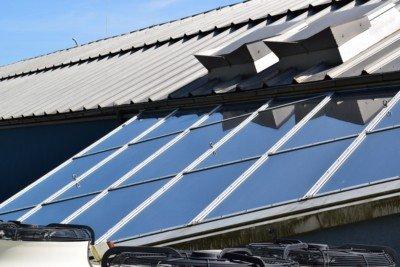 Spiegelfolien und Fensterfolien für Glasdachflächen Sonnenschutzfolien